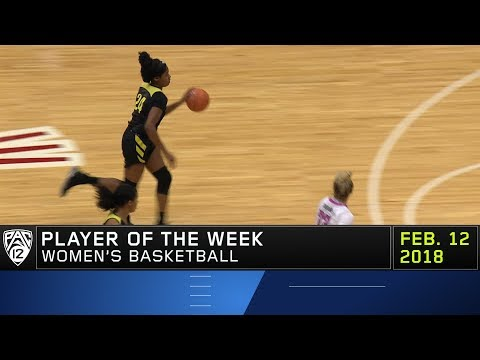 Oregon\'s Ruthy Hebard voted Pac-12 Women\'s Basketball Player of the Week
