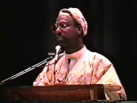 Na'im Akbar at McClymonds High School Nomo Lectures