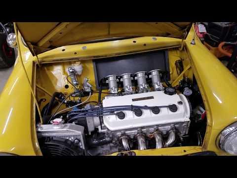 M.C.M. Classic Mini - Honda SOHC Conversion