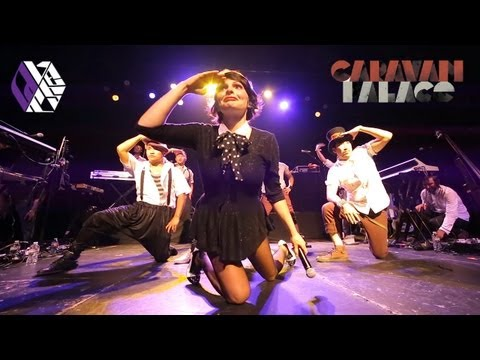 Caravan Palace And Quest Crew Surprise Hollywood Performance