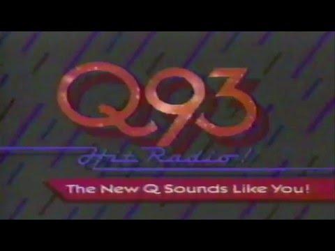 Q93 FM Radio New Orleans 1983 Commercial