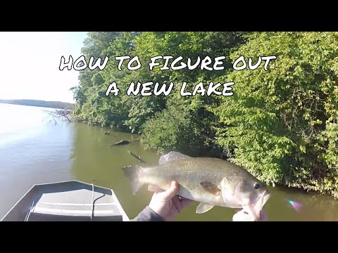 How to figure out a new lake -  Yellowstone Lake