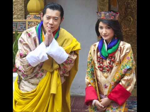 King Of Bhutans Royal Wedding YouTube