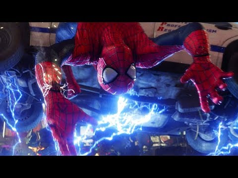 Spider-Man vs Electro - First Fight Scene - The Amazing Spider-Man 2 (2014) Movie CLIP HD