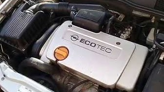 Опель Астра G   Обзор  двигатель 1.6 16 клапанов
