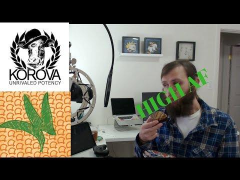 Korova 500 mg Fifty One Fifty Marijuana Edible Review