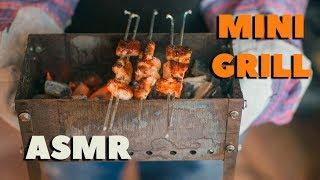АСМР Мини мангал своими руками, как сделать мангал.  ASMR Mini grill handmade diy