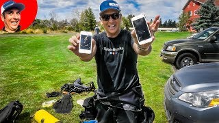 iPhone X River Treasure Hunting Turns Up 2 Lost iPhones Found (Scuba Diving)