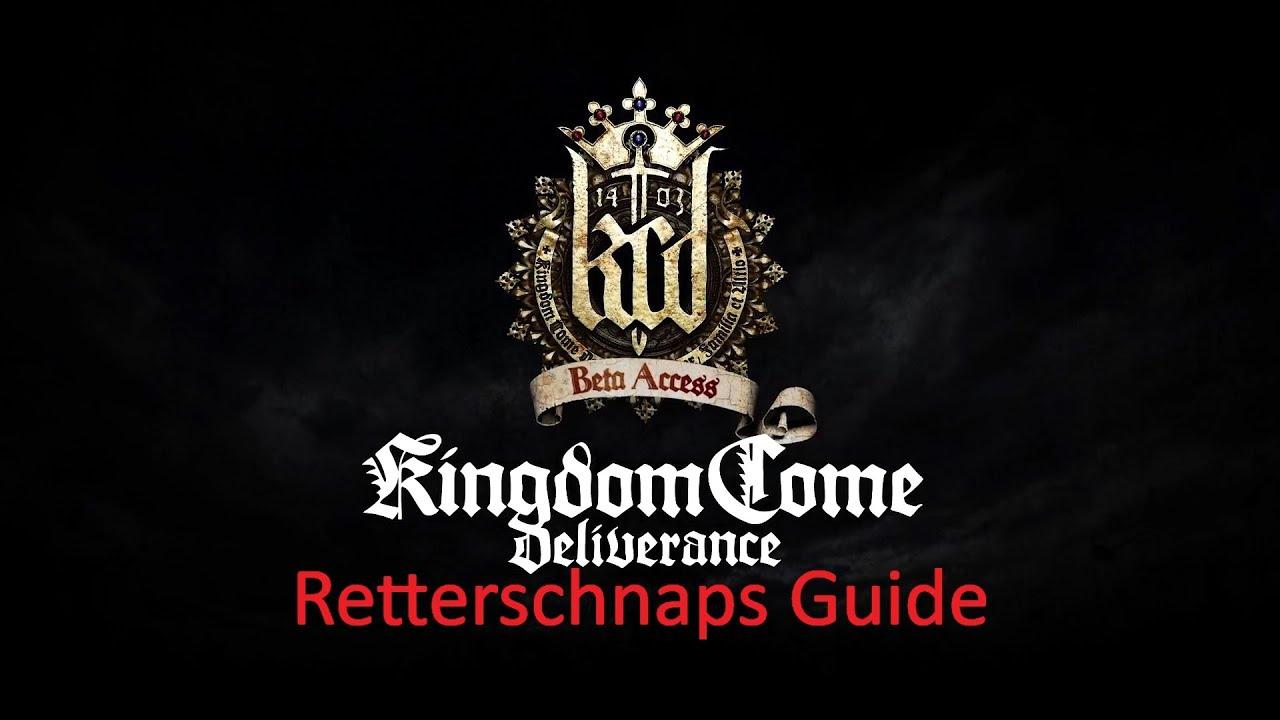 kingdom come deliverance how to make savior schnapps