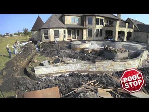 Building Award Winning Pools -  Pool Stop Rockwall TX