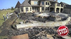 Building Award Winning Pools -  Pool Stop Rockwall TX