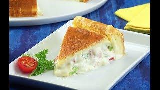 Вкуснейший Пирог С Овощами: Простой Пошаговый Рецепт На Каждый День