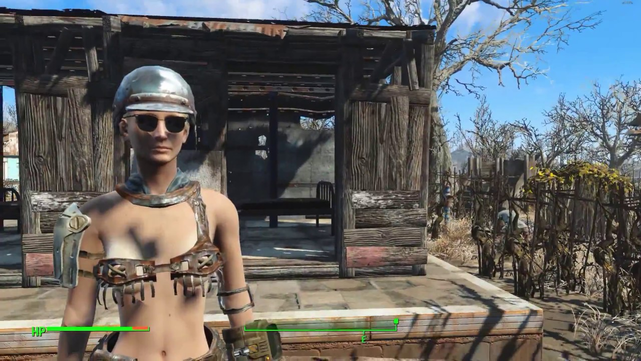 Before Fallout 76, some armor and clothes
