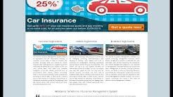 PHP and MySQL Project on Vehicle Insurance Management System
