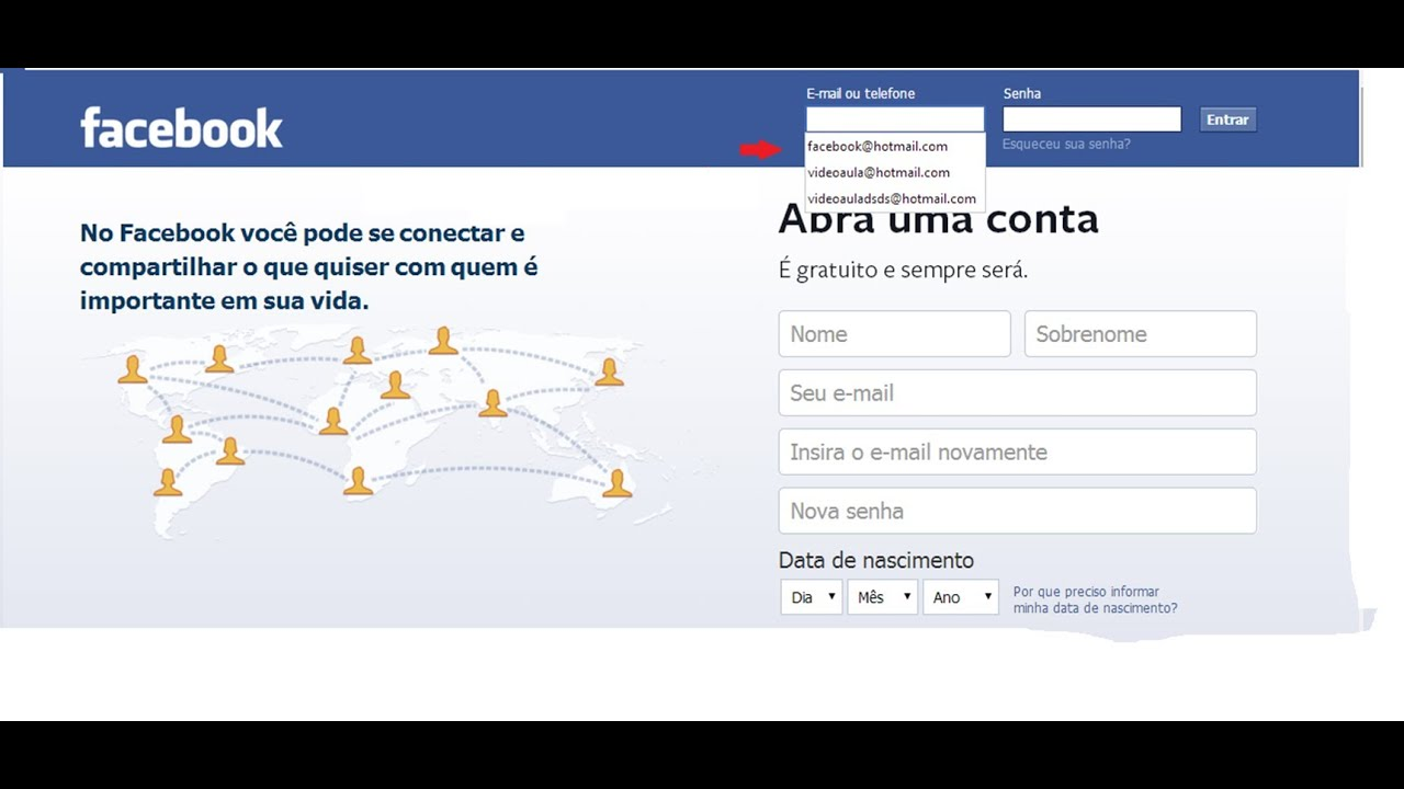 Como Apagar Fotos Do Face: Como Apagar E-mail Salvo No Login Do Facebook