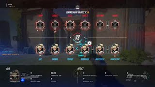 Overwatch - 6 Mercy Are Intimidating Apparently
