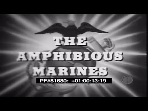 The Amphibious Marines - 1952 Revolutionary War WWII Cold War 81680