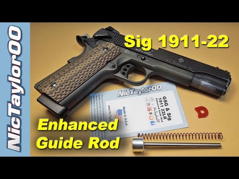 ATI / GSG / Sig Sauer Enhanced Guide Rod for the 1911 22LR Pistol