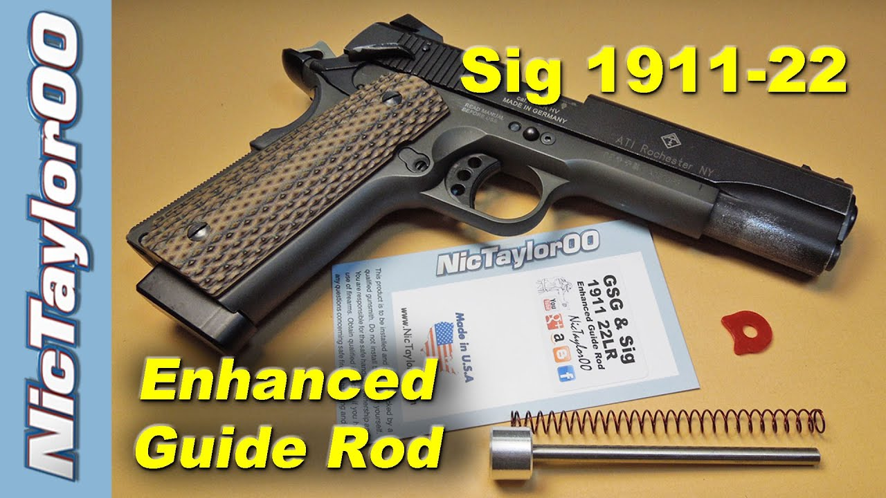 WE Airsoft M 1911 Part No 35 Recoil Spring Guide