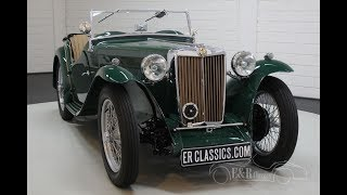 MG TC 1946 -VIDEO- www.ERclassics.com