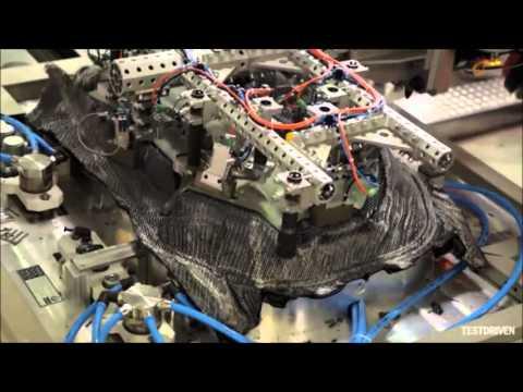 BMW i3 composite frame manufacturing
