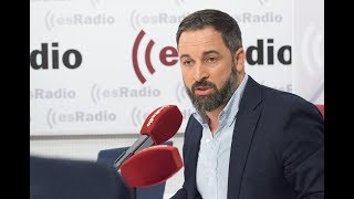 Federico Jiménez Losantos entrevista a Santiago Abascal, líder de Vox