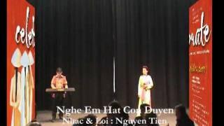 Nghe Em Hát Còn Duyên - Nhạc & Lời : Nguyễn Tiến - Ca Sỹ : Huyền Vân