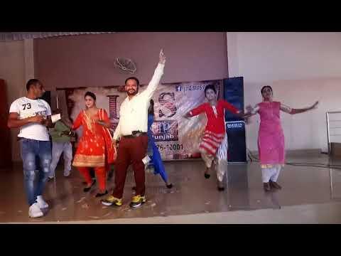 Top dance || Hi Fi dancer || bhangra group || bhangra dance || Tanu brar dencer