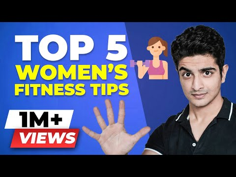 Top 5 WOMEN'S Fitness Tips – Weight Loss for Women & More | BeerBiceps Female Fitness