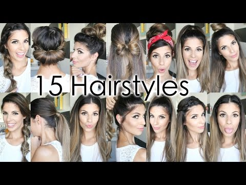 15 Back To School Heatless Hairstyles 2018