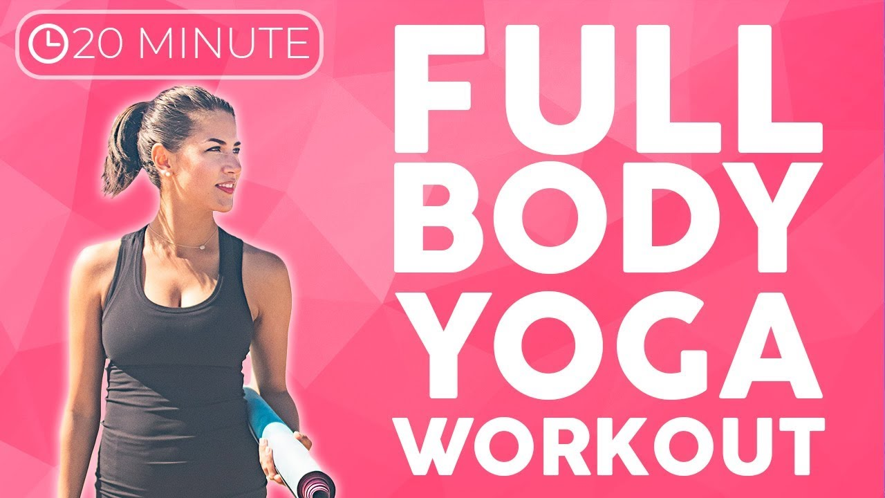 Full Body Power Yoga Workout (20 minute Yoga) Strength & Tone | Sarah Beth  Yoga