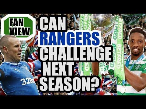 Will Rangers Challenge Celtic Next Season?