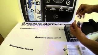 видео PANDORA : Автосигнализация Pandora LX 3257
