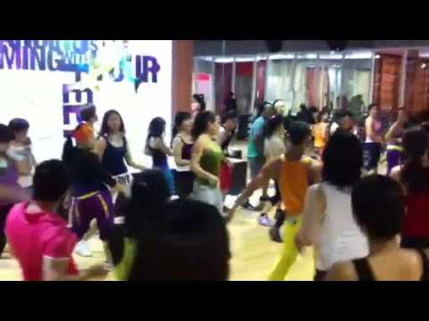 Best Fitness ID | Carolina Arias and he BEST ZUMBA PARTY in Jakarta