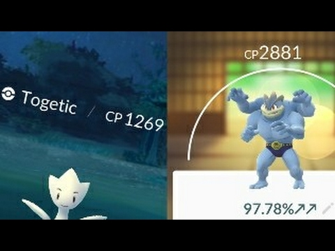 High CP Togetic Encounter! Machamp Destroys Two 3000+CP Tyranitars!
