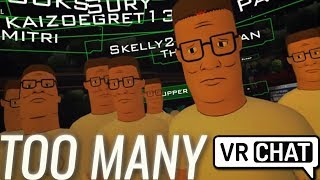 Pokelawls - THAT'S TOO MANY HANK HILLS (VRChat Highlights)