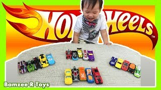 Hot Wheels Toy Cars Collection 4x5 Packs Racing Cars Workshop Off Road with Bamzee