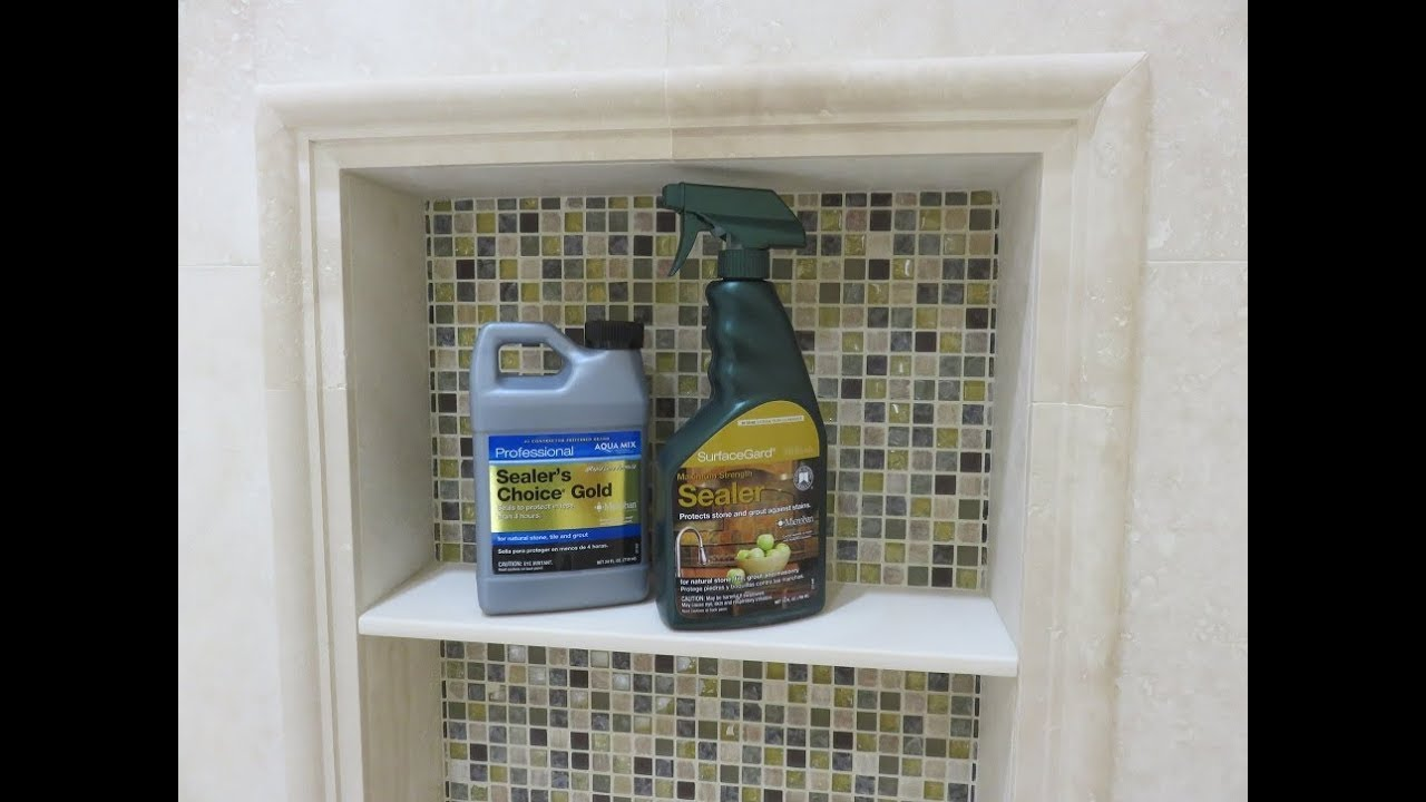 Part 7 how to seal shower tile and grout marble travertine part 7 how to seal shower tile and grout marble travertine dailygadgetfo Gallery