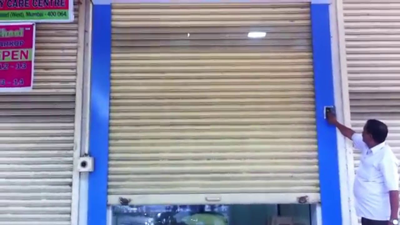 Automatic Rolling Shutters Manufacturer Mumbai Doovi