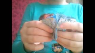 Оригами лилия/кусудама