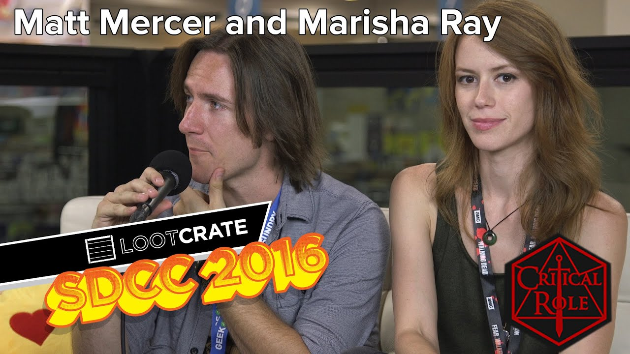 are marisha ray and matthew mercer dating