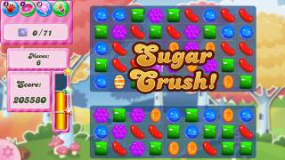 Candy Crush Saga Level - 1510 No Booster! Cleared in 2 Minutes.