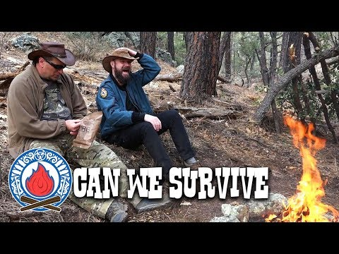 Desert Forest Survival Shelter (Outdoor Survival Training)