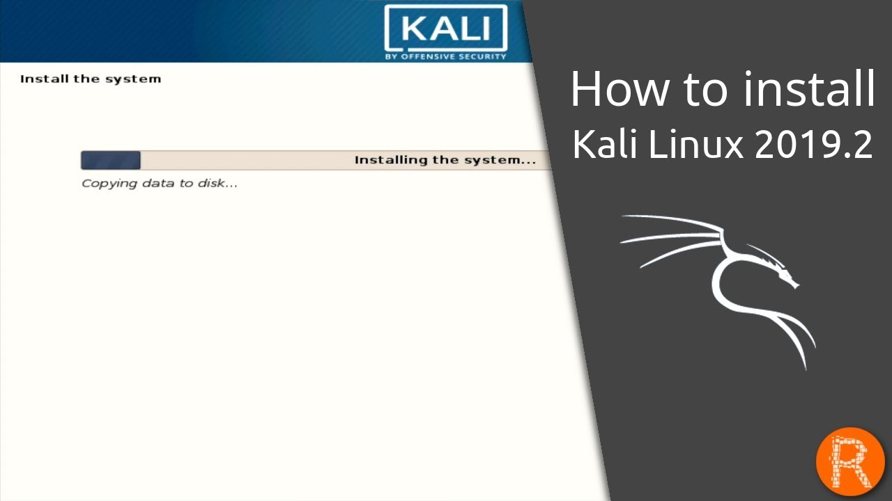 How to install Kali Linux 2019 2