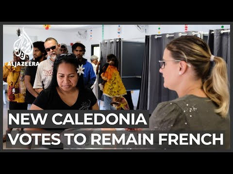 New Caledonia rejects independence, will stay part of France