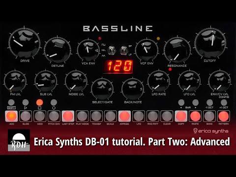 Erica Synths DB-01 tutorial - Part 2: Advanced