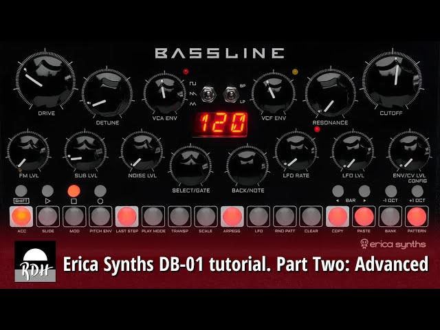 Erica Synths DB-01 tutorial - Part 2: Advanced
