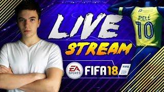 ZARABIAMY NA SBC!!! | FIFA 18 STREAM - Na żywo