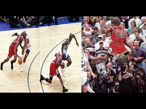 Michael Jordan vs Jazz (1998 NBA Finals Game 6) - 45 Pts, 4 Stls, Game Winner, Last Game As A Bull!