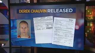 Former MPD Officer Derek Chauvin, Charged In George Floyd's Death, Released From Custody